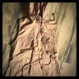 Love Tree Hooded Utility Vest